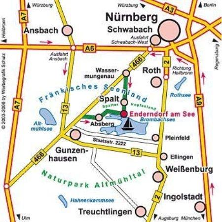 Spalt, Германия: plan of site