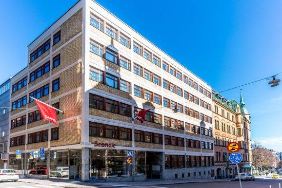 scandic upplandsgatan facade bild fr n scandic upplandsgatan stockholm tripadvisor. Black Bedroom Furniture Sets. Home Design Ideas