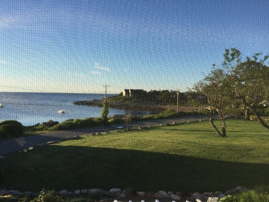"The Seafarer Inn: View from ""Loblolly room"""