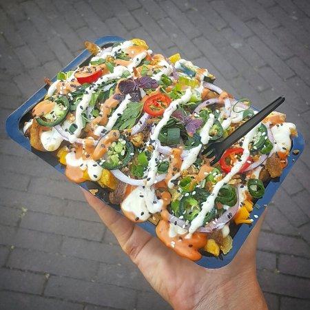 Vegan Junk Food Bar: 🌿®💥🙌🏼