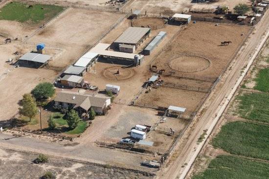 Litchfield Park, AZ: This is A and M equestrian where we operate out of.