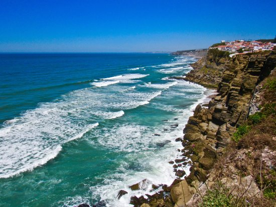From the promenade looking north to Azenhas do Mar