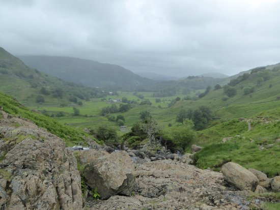 Grasmere, UK : View from trail