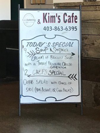 Strathmore, Canadá: Specials board