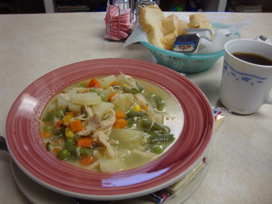 Hill City, Миннесота: Chicken Soup to Die For!