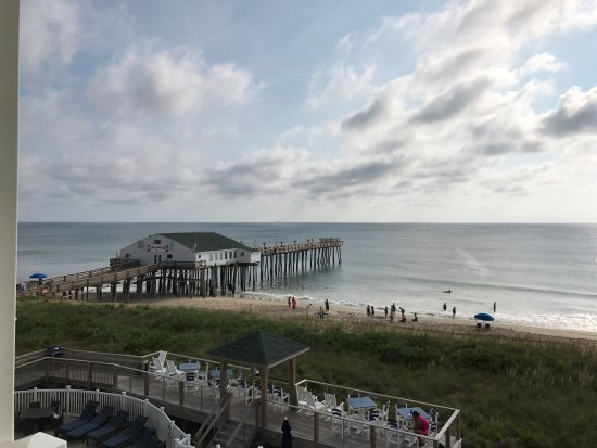View From Our Room Picture Of Hilton Garden Inn Outer Banks Kitty Hawk Kitty Hawk Tripadvisor