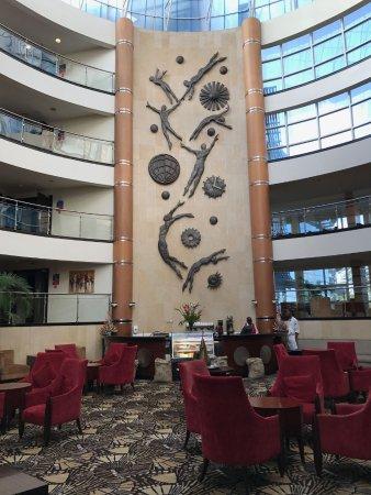 The Boma Nairobi: Atrium and cafe