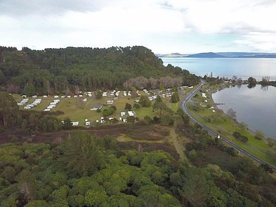 Turangi, Selandia Baru: Hillside sites / Lake View