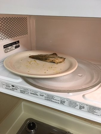 Extended Stay America - Austin - North Central: The chicken or fish in the microwave another guest left behind that housecleaning missed.