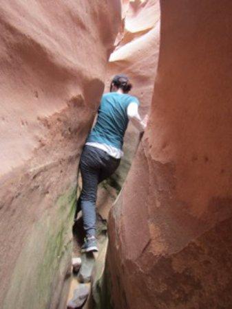 Desert DAWN: Slot canyon
