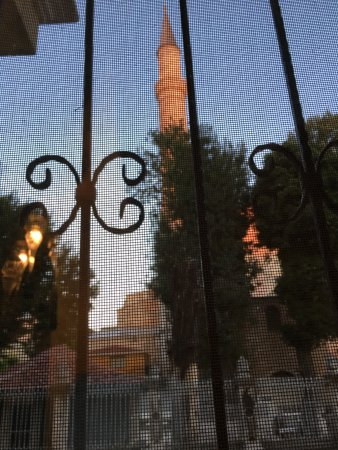 Ottoman Hotel Imperial: view from room