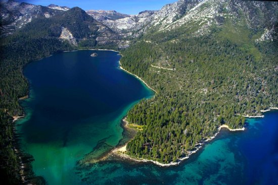 South Lake Tahoe, Californien: Emerald bay