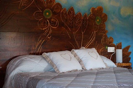 El Xalet de Prades : habitación con jacuzzi