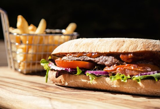 Loganholme, Australia: Signature Steak Sandwich