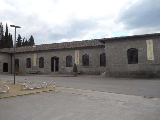 Gaiole in Chianti, Italia: Loja de vinhos do castelo de Broglio