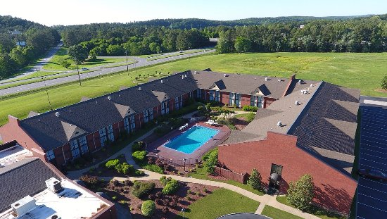 FairBridge Inn & Suites: Hotel's Bird View