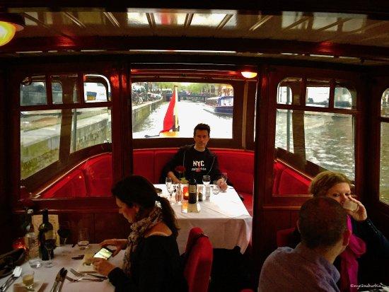 Amsterdam Jewel Cruises - Dinner Cruise: Beautifully restored gem of a boat!