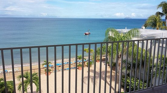 Villa Cofresi Hotel: View from room 315