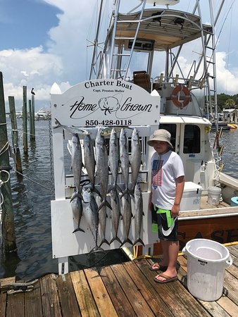 Picture of gulf angler fishing charters for Destin florida fishing trips