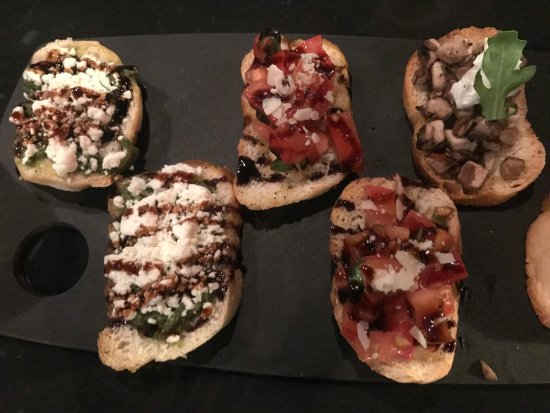 Neenah, WI: Brokien Tree Bruschetta, a good example that beauty is only skin deep.