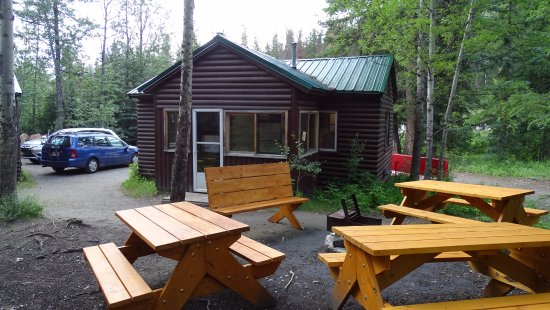 HI-Maligne Canyon Wilderness Hostel Foto