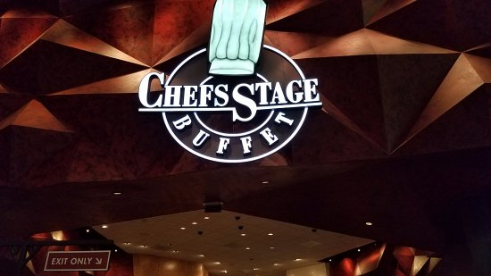 Chef's Stage Buffet: entrance