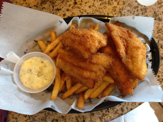 Dockside Fish Market : White fish and chips