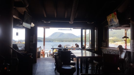 Sechelt, Kanada: View from the bar
