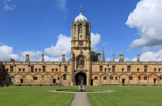 Tour privato di Christ Church a Oxford