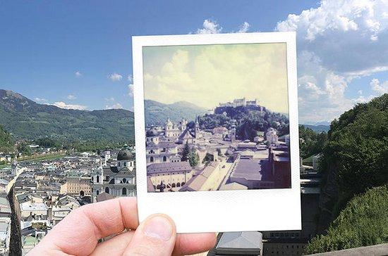 Salzburg Vintage Photo Tour With a Polaroid Camera