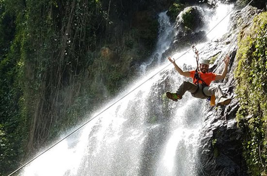 Zip and Zen Guided Rappel Waterfall...