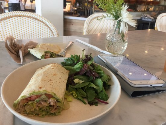 Del Mar, CA: Great gluten free wrap