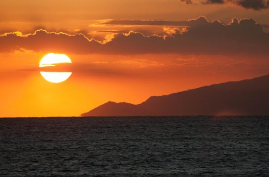 Sunset Tour med båd i Sorrento