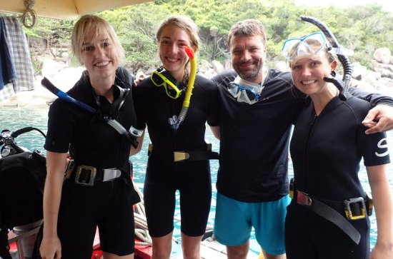 2 dias de viagem de mergulho para Koh...