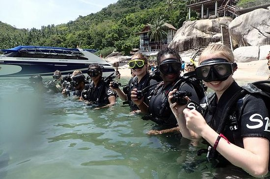 PADI Open Water Diver course on Koh...