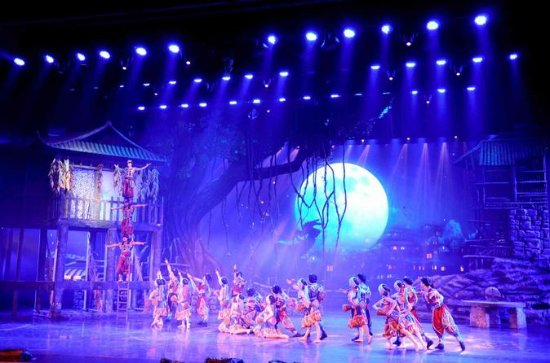 Charming Western Hunan Show with Private Transfer