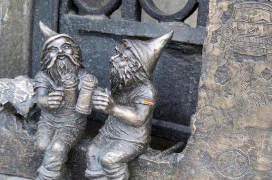 Wroclaw Segui il sentiero degli gnomi