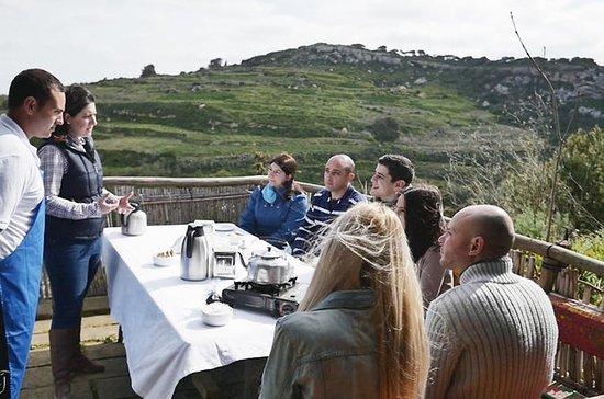 Malta Food and Wine Tour with Visit of Local Farm - shared tour