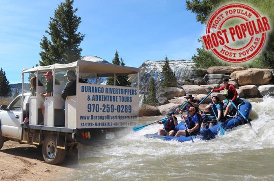 Jeep and Raft Combo Tour