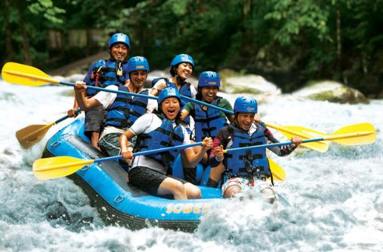 Caving at Gua Tempurung and Thrilling White Water River Rafting in...