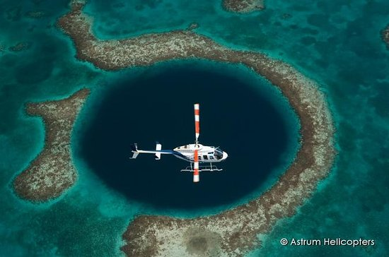 Great Blue Hole and Barrier Reef