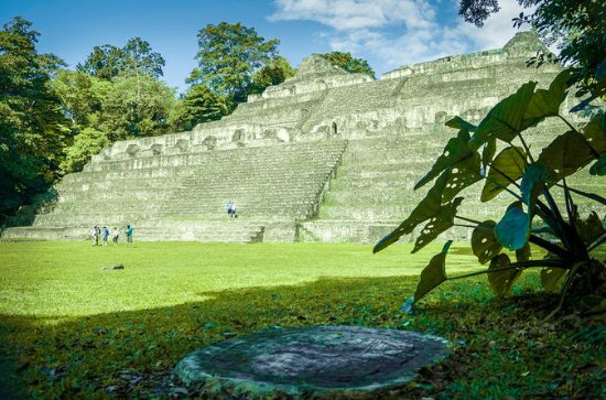 Caracol Maya Temples and Big Rock...