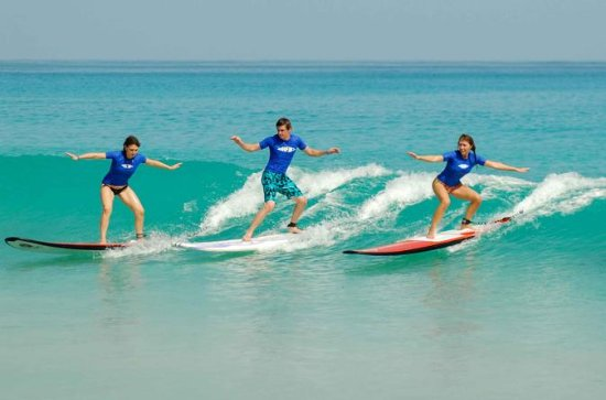 Group Surf Lessons at Macao Surf Camp...
