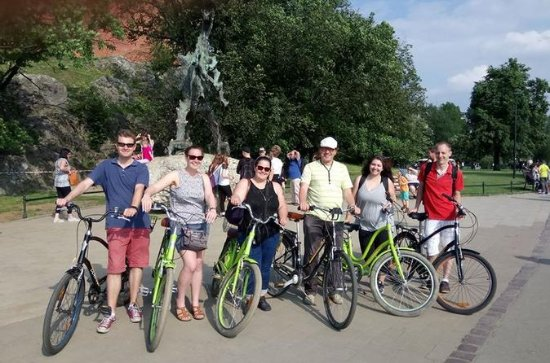 Evening 2h orientation Bike Tour of the Old Town and Wawel castle...