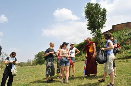 Debate with a Monk at Kopan Monastery