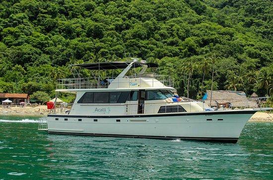 Acalli Hatteras 58 feet Luxury Yacht