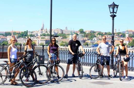 Budapest E-Bike Tour with Coffee Stop