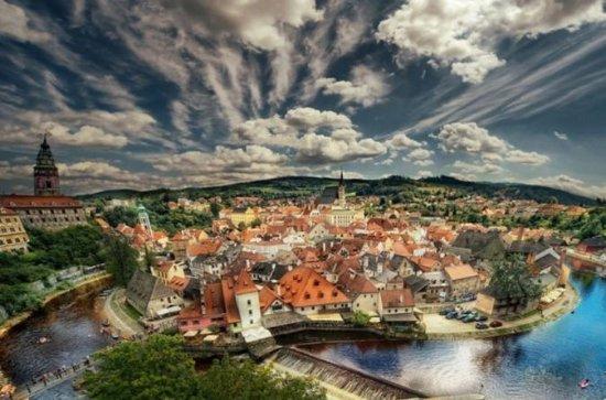 Visita privata da Praga a Hallstatt