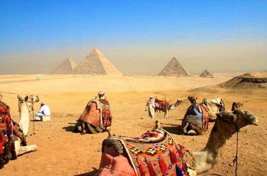 Private Kamelfahrt in Giza Pyramide ...
