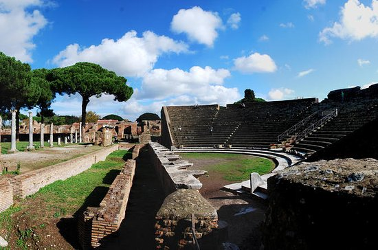 Ostia Antica Ruins Fullday fra Roma